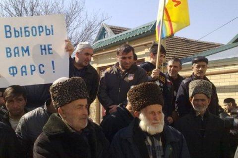 В Дагестане продолжается голодовка членов КПРФ