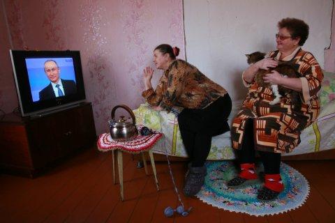 Опрос: Электоральный рейтинг Путина вернулся к «до крымскому» уровню