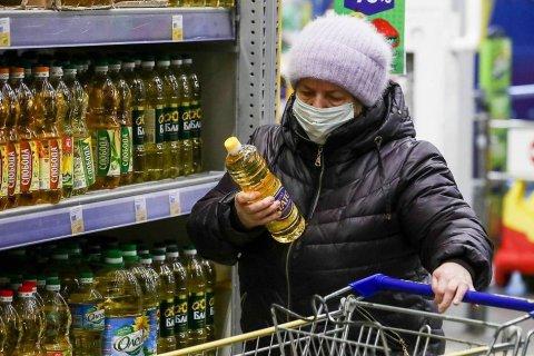 Инфляция в России по итогам 2020 года составила 4,9%, превысив прогноз Правительства РФ